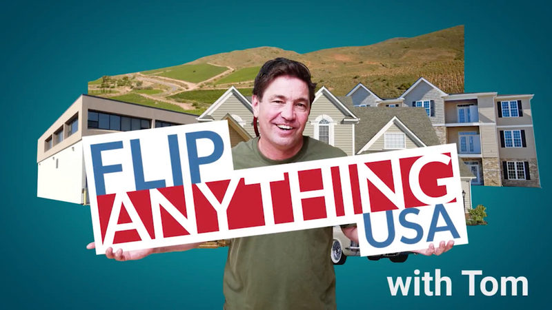 Real Estate Investing With No Money | Interview with Tom from FlipAnythingUSA